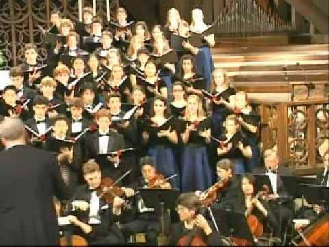 Lacrimosa, Mozart Requiem  Ccert Choir, Los Altos High School