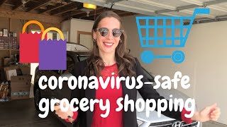 Safe grocery shopping during the coronavirus pandemic TIPS!