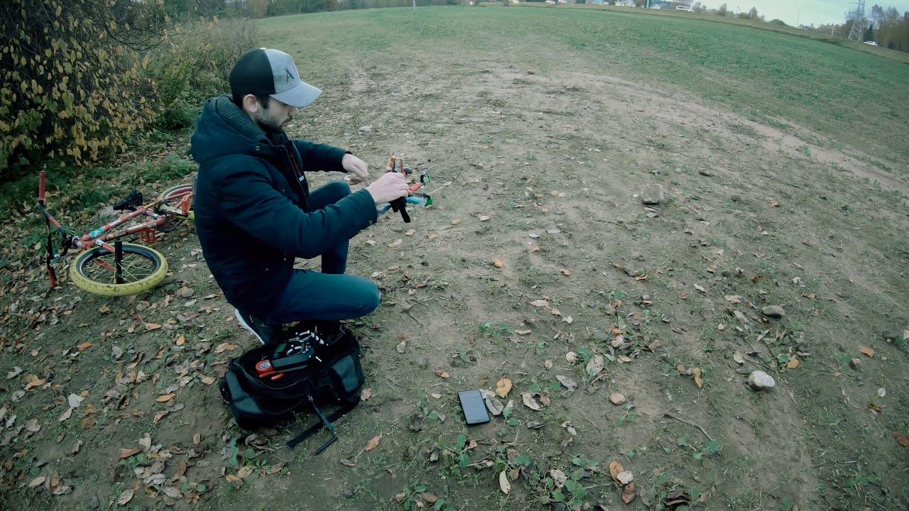 Когда собрал свой первый FPV дрон... фотки