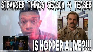 Stranger Things Season 4 Teaser Explained!!! Is Hopper Alive??!!!