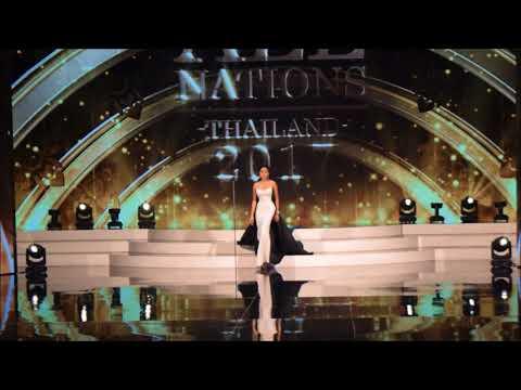 รอบ Preliminary (ชุดราตรี) @ Miss All Nations Thailand 2017