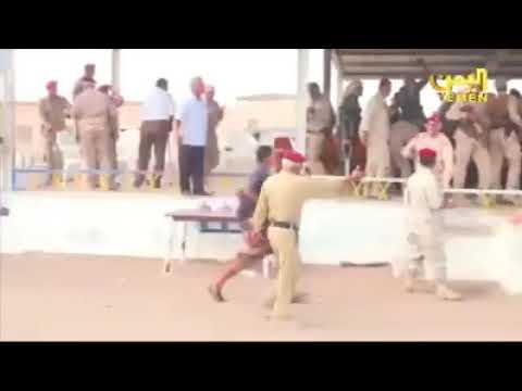 فيديو جديد .. شاهد لحضة الهجوم الارهابي الحوثي على قاعدة العند - يافع نيوز