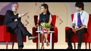 Student Fireside Chat With Eric Schmidt at Big Tent Thailand 2013