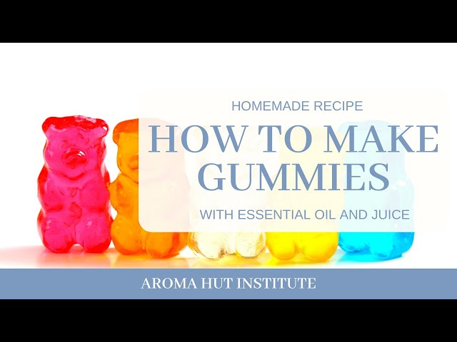 How To Make Gummies With Juice | Essential Oils