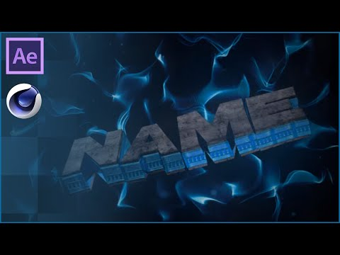 Dark Blue Cinema 4D & After Effects Shockwave Intro Template - FREE DOWNLOAD