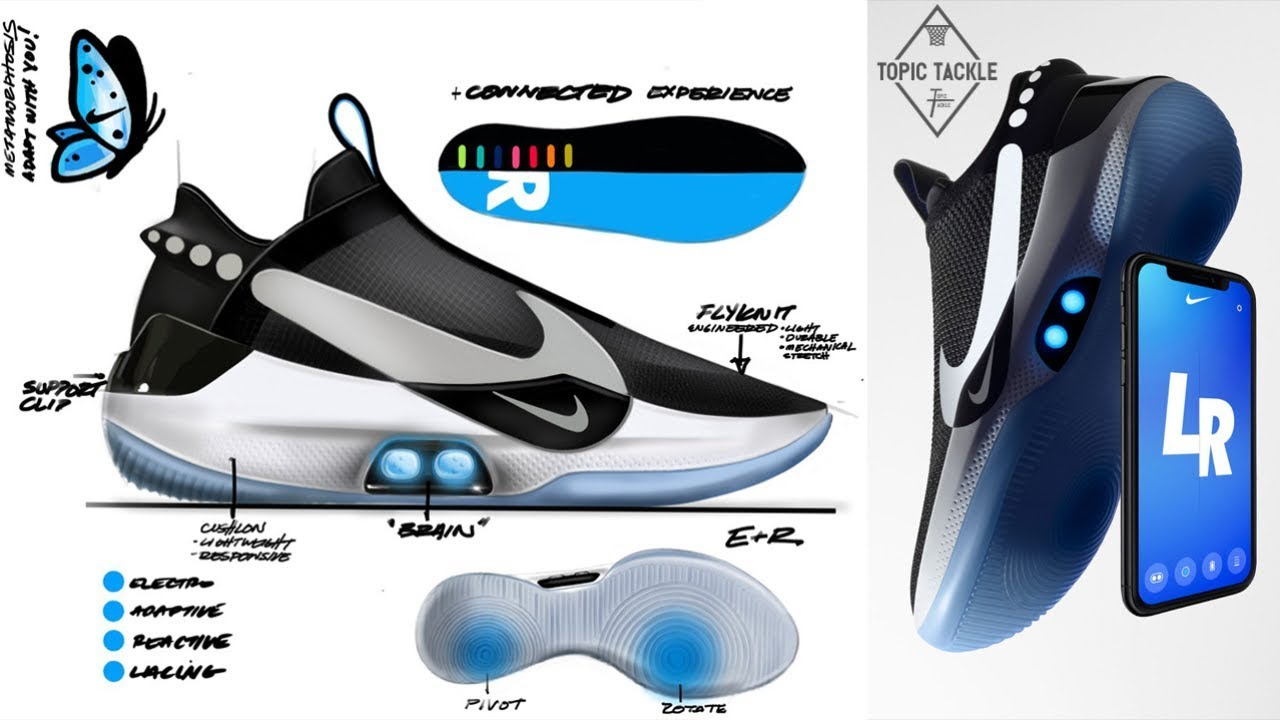 ef21811dc3 They Really Did This... Nike Adapt BB Self-Lacing Basketball Shoes ...