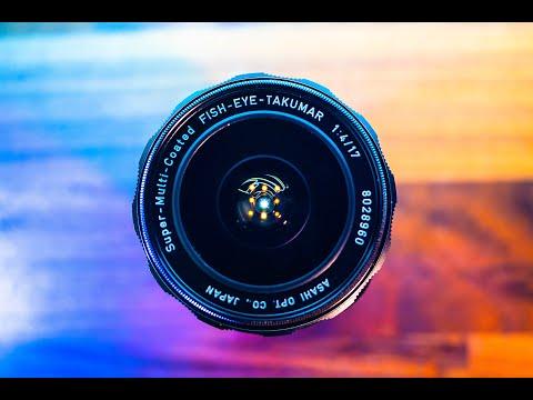 PENTAX TAKUMAR 17mm Fisheye F4 - Weird, Wide And Wonderful