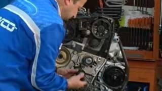 Kontrola i wymiana pasków sterujących układem rozrządu oraz automatycznym napinaczem