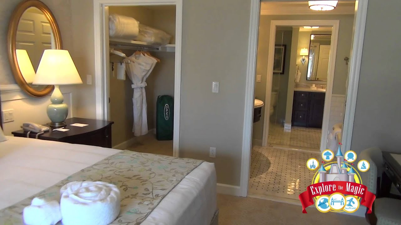 2 Bedroom Lock Off Tour At Disney Grand Floridian Resort