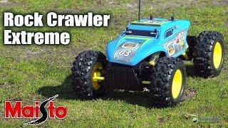 Maisto Rock Crawler Extreme: обзор автомобиля на радиоуправлении