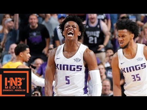 Los Angeles Lakers vs Sacramento Kings Full Game Highlights / July 2 / 2018 NBA Summer League