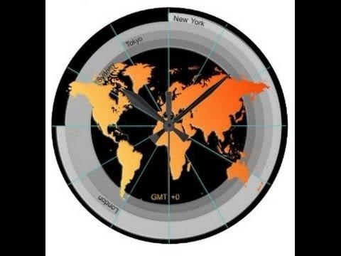 timezone clocks financial forex