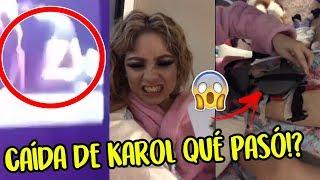 Karol sevilla que pasó después de su caÍda en concierto soy luna live lat 2018