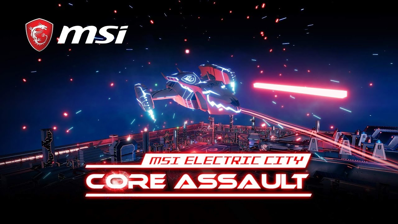 MSI Electric City: Core Assault VR Game | Gaming Motherboard | MSI