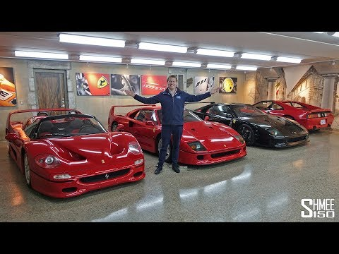The Best Secret Underground Supercar Garage!