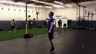 Chris Shatzel with ramping double unders!