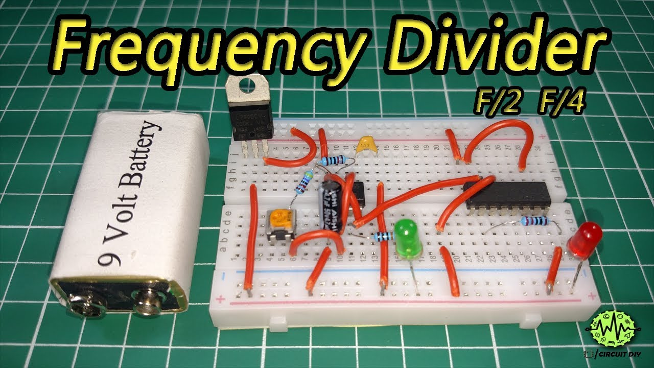 frequency divider circuit using 555 timer ic cd4017 diyfrequency divider circuit using 555 timer ic cd4017 diy electronic project