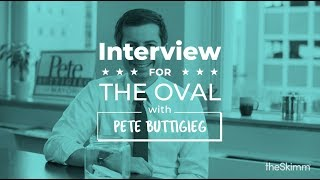 Mayor Pete Buttigieg interviews for the Oval Office