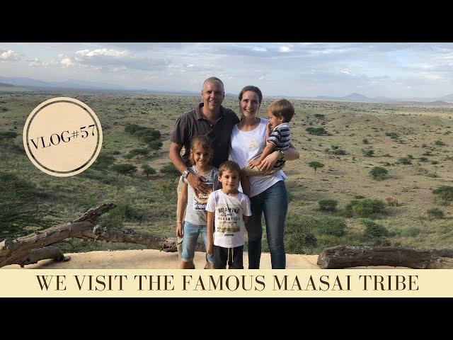 We visit the famous Maasai Tribe in Tanzania with our kids | Makasa Tanzania Safari ǀ VLOG #57