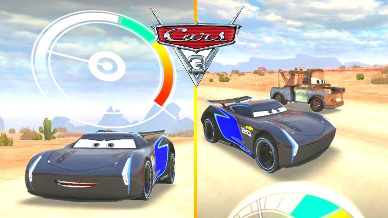 Jackson Storm Vs Tow Mater Disney Cars Lightning Mcqueen League Drag Race Games For Kids