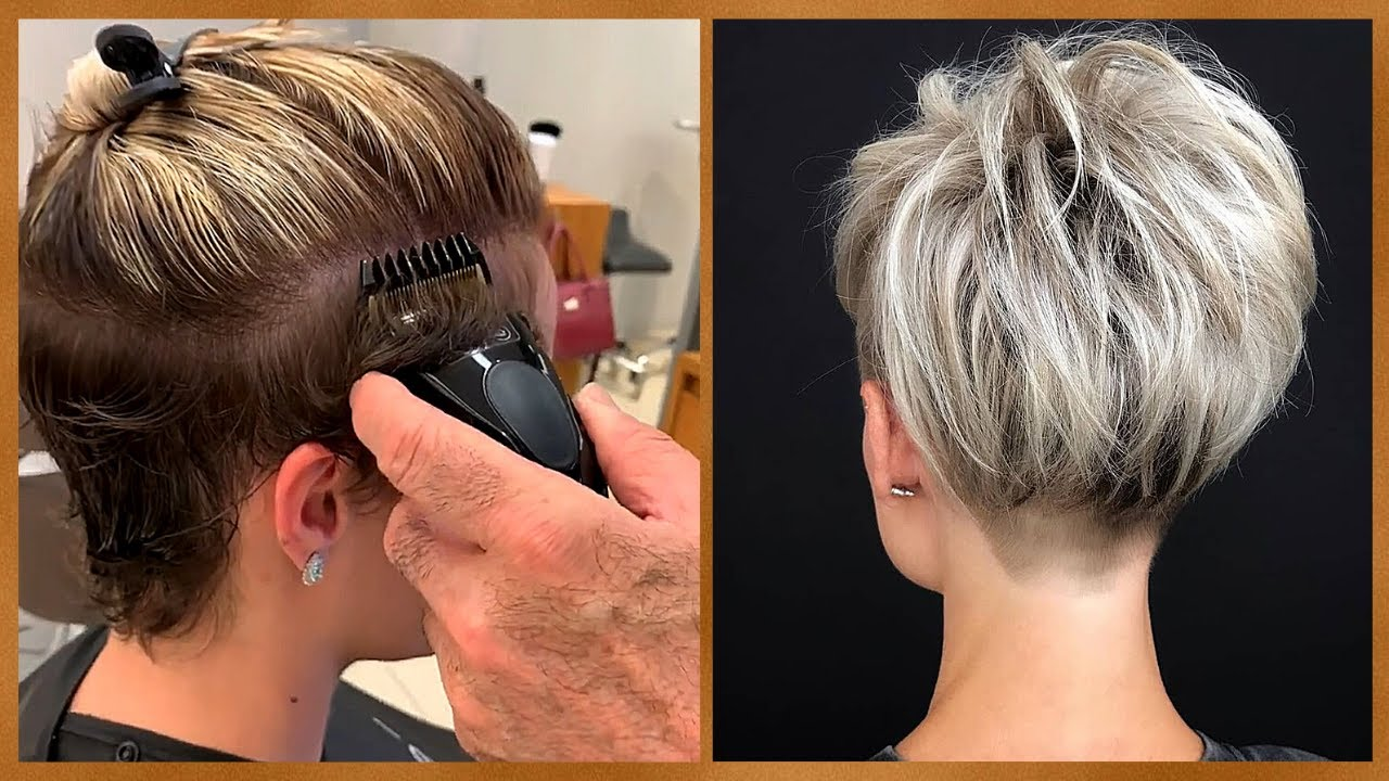Look Younger With Trendy Undercut Pixie 😜 Women Hair Ideas 2020 | Top Viral Short Haircut