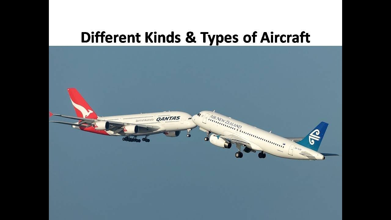 Different Kinds & Types of Aircraft. - YouTube - photo#30