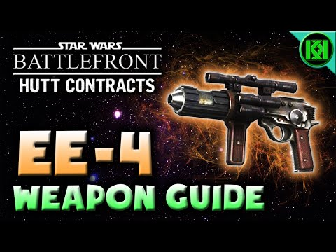 Star Wars Battlefront: EE-4 (Gameplay) Weapon Guide | Sana's Legacy Hutt Unlock (EE4 Bespin DLC)
