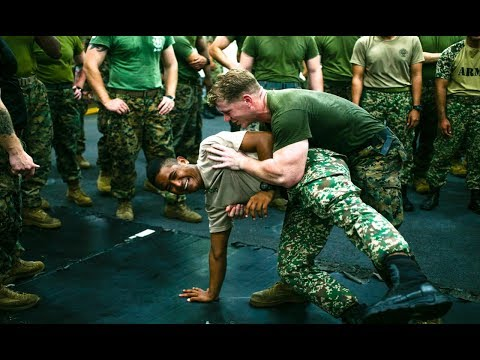 Malaysian Military Training With US Marines   Exercise Tiger Strike 19