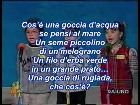 Goccia dopo goccia (con testo) - 37º Zecchino d'oro 1994