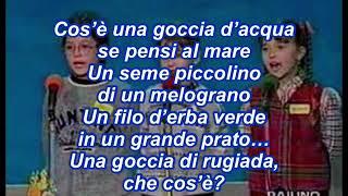 видео Goccia