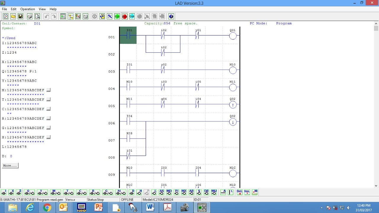 Plc Ladder Programming On Ge Fanuc For Scheduler Youtube Learn Cnc Logic Controls And