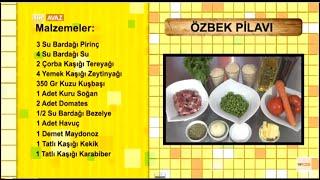 Özbek Pilavı Yapımı Ortak Lezzetlerimiz TRT Avaz