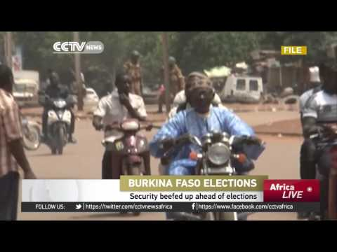 Security beefed up ahead of Burkina Faso elections