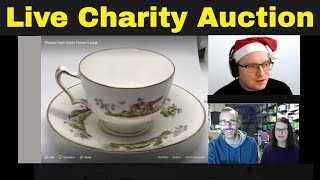 Reseller Charity Auction - Facebook lots closing live stream