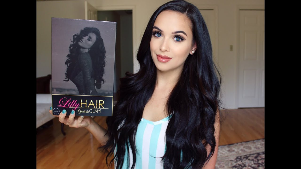 Bellami Hair Extensions  Review Tutorial - YouTube 07210a587