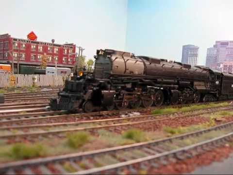 Precision Craft Models 4-8-8-4 Union Pacific Big Boy#4002 Steam Locomotive HO Scale