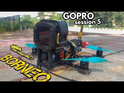Фото CINEMAWHOOP 3 inch + Gopro session5 + 2s Lipo 360mah