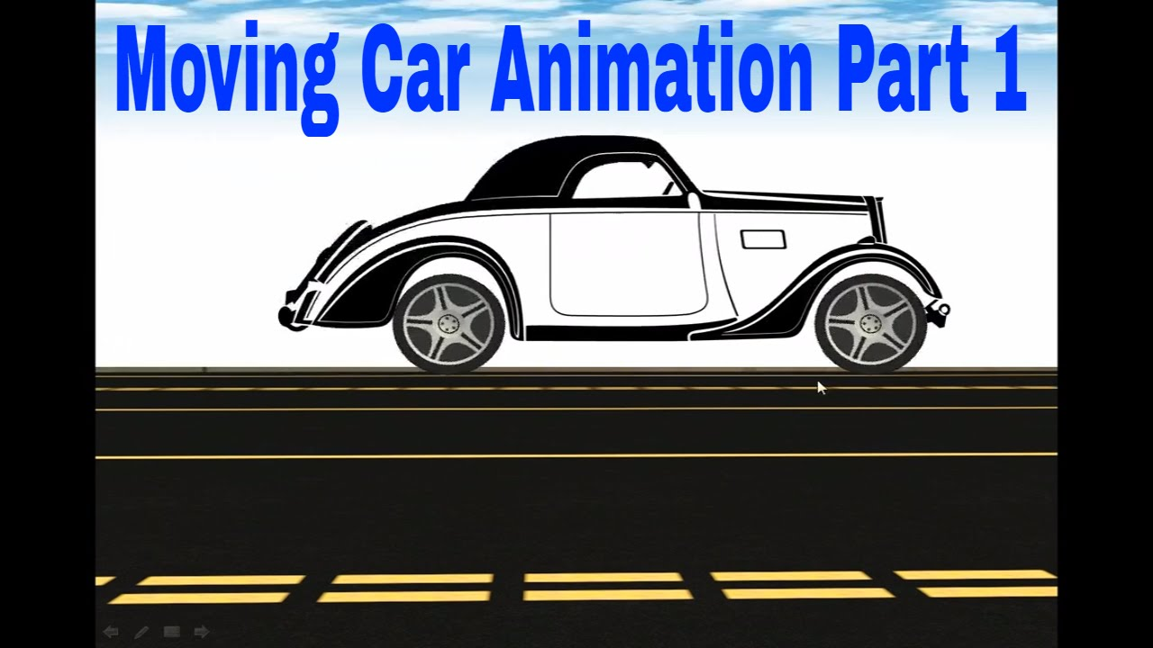 add animation to powerpoint moving car animation part 1
