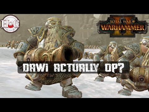 DAWI ACTUALLY OP? - Total War Warhammer 2 - Online Battle 387