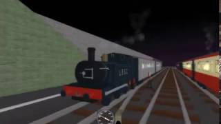 ROBLOX: The E2 Tank Engine & the Passenger Train