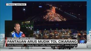 Video Hari Ini Puncak Arus Mudik Kedua di Tol Cikarang - Cece Kosasih, Deputy GM Traffic PT Jasa Marga download MP3, 3GP, MP4, WEBM, AVI, FLV Juni 2018