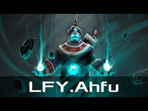 LFY.Ahfu  Storm Spirit, Mid Lane May 23, 2017  Dota 2 patch 7.06 gameplay