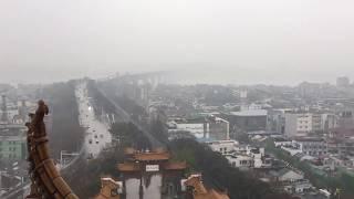 2018.3.17(土)17:22 武漢の黄鶴楼からの眺望 thumbnail