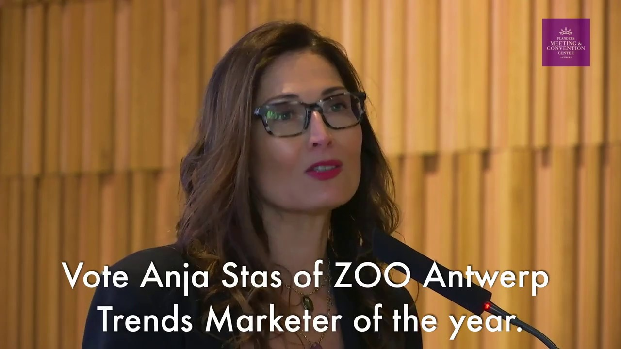Vote Now Anja Stas Of Zoo Antwerp For Trends Marketer Of The Year Youtube