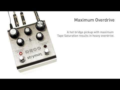 Strymon Deco - Tape Saturation audio examples