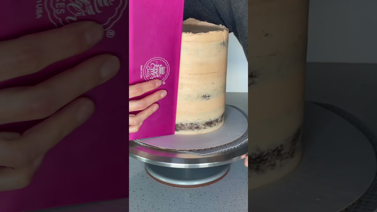 Buttercream tree bark cake