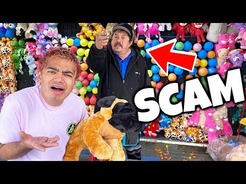 AVOID CARNIVAL GAME SCAMS! (EXPOSED)
