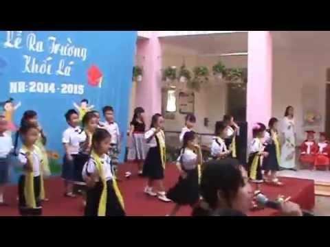 Lễ ra trường lớp Lá Mầm Non Sơn Ca 6