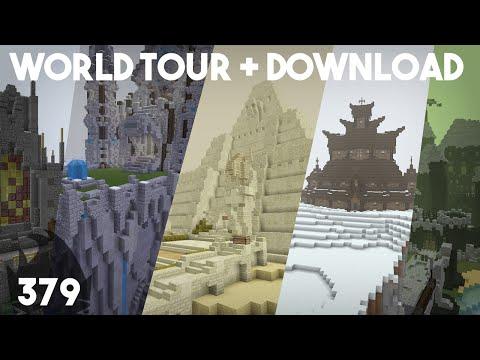 Minecraft Building w/ BdoubleO :: World Tour & Download! :: ep 379