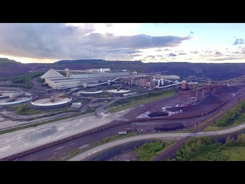 TRRS 481: The End of the Empire Iron Ore Mine - Drone Flyover